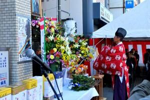 坂本龍馬誕生祭の様子