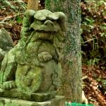 和霊神社の狛犬