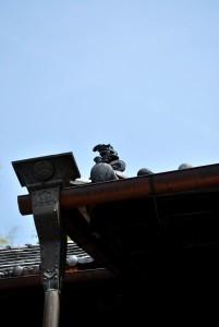 永福寺屋根